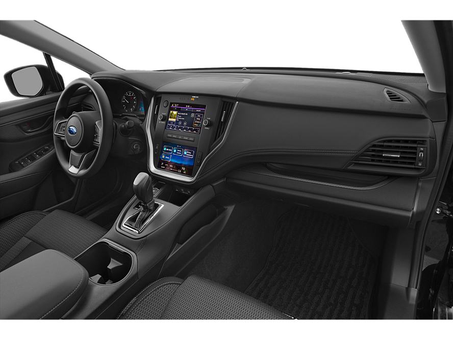 The dashboard from the passenger side of a 2020 Subaru Outback Convenience