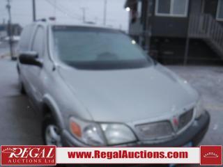 Used 2004 Pontiac Montana 4D WAGON for sale in Calgary, AB
