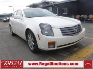 Used 2003 Cadillac CTS 4D Sedan for sale in Calgary, AB