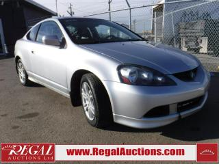 Used 2006 Acura RSX 2D Coupe for sale in Calgary, AB