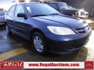 Used 2004 Honda Civic SE 4D Sedan for sale in Calgary, AB