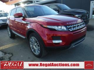 Used 2012 Land Rover Range Rover Evoque 4D Utility 4WD for sale in Calgary, AB