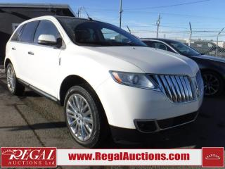 Used 2013 Lincoln MKX 4D Utility AWD for sale in Calgary, AB