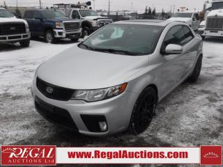Used 2012 Kia Forte SX Luxury 2D Koup 6SP 2.4L for sale in Calgary, AB