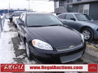 Used 2012 Chevrolet Impala 4D Sedan for sale in Calgary, AB