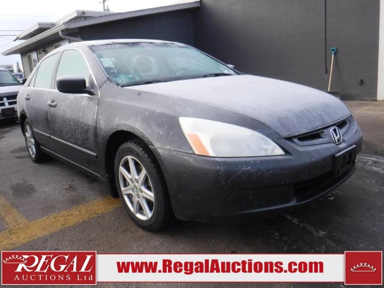 Photo of Grey 2004 Honda Accord