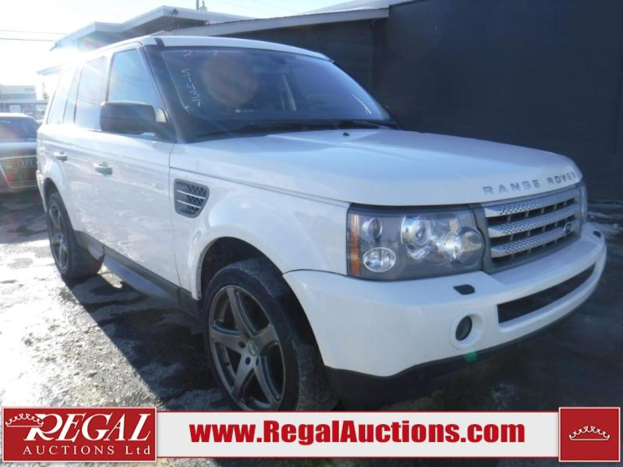 Photo of White 2009 Land Rover Range Rover