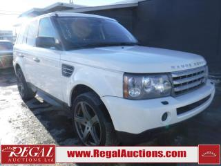 Used 2009 Land Rover Range Rover Supercharged 4D Utility AWD for sale in Calgary, AB