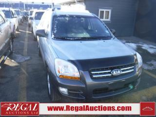 Used 2006 Kia Sportage LX 4D Utility for sale in Calgary, AB