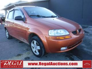 Used 2006 Pontiac Wave 4D Hatchback for sale in Calgary, AB