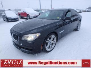 Used 2012 BMW 7 Series 750I 4D Sedan AWD Xdrive Twin Turbo for sale in Calgary, AB