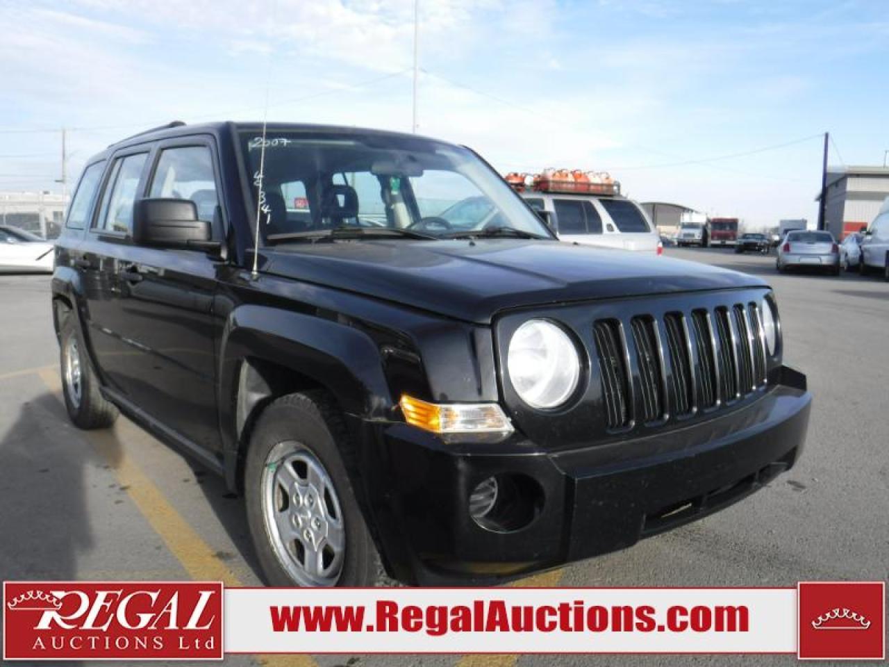 Photo of Black 2007 Jeep Patriot