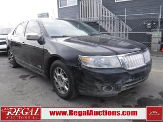 Used 2007 Lincoln MKZ Base 4D Sedan AWD for sale in Calgary, AB