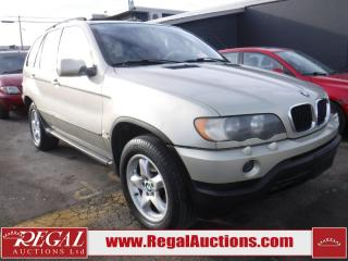 Used 2001 BMW X5 4D Utility AWD for sale in Calgary, AB