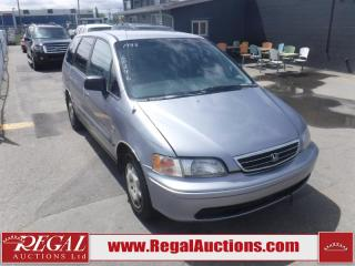 Used 1998 Honda Odyssey 4D WAGON for sale in Calgary, AB