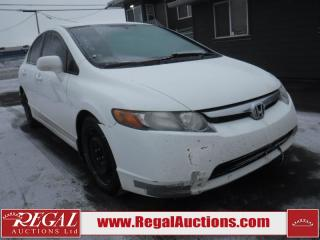 Used 2007 Honda Civic DX 4D Sedan for sale in Calgary, AB