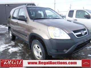 Used 2002 Honda CR-V LX 4D Utility 4WD for sale in Calgary, AB