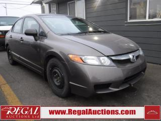 Used 2009 Honda Civic DX-G 4D Sedan for sale in Calgary, AB