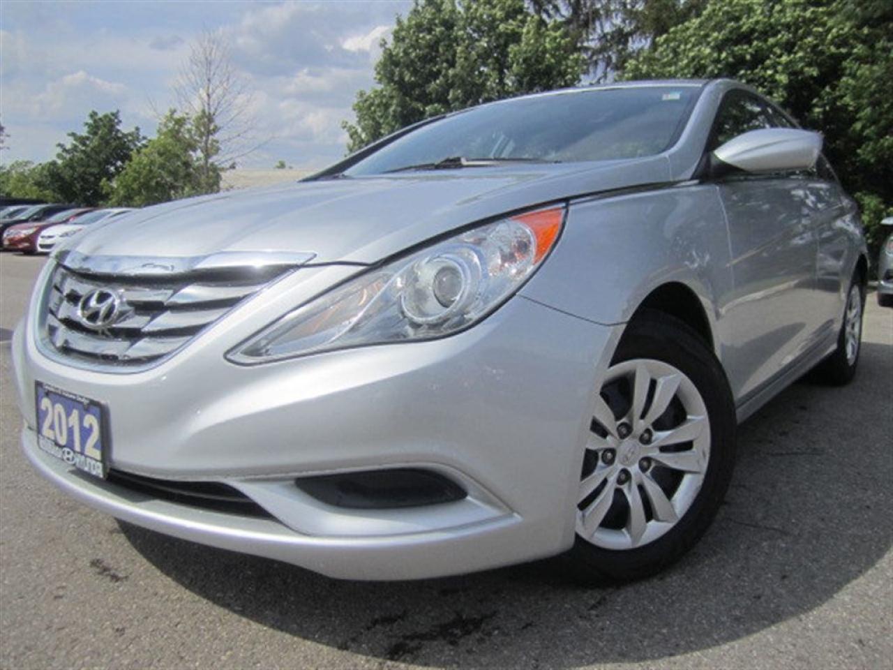2012 Hyundai Sonata GL-Certified-Service records available