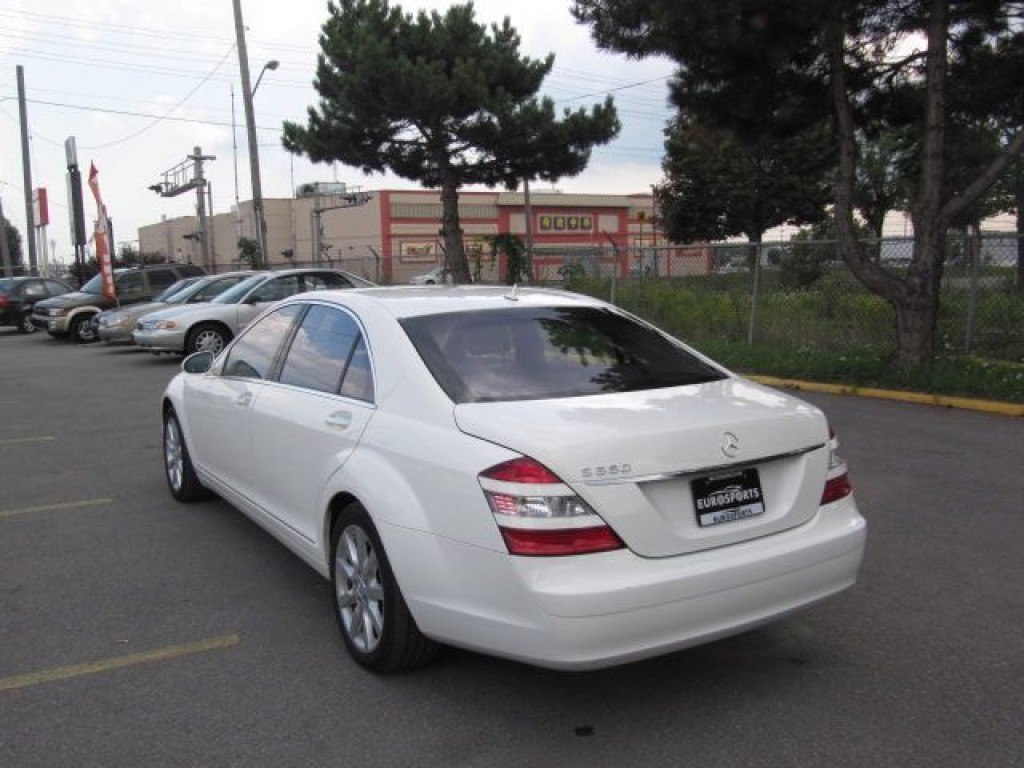 Used 2007 mercedes benz s550 lwb for sale in markham for Mercedes benz markham