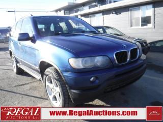 Used 2003 BMW X5 4D Utility AWD for sale in Calgary, AB