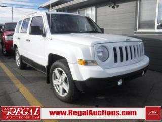 Used 2015 Jeep PATRIOT SPORT 4D UTILITY FWD for sale in Calgary, AB