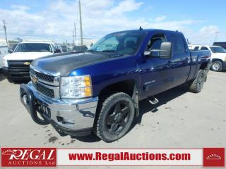 Used 2013 Chevrolet Silverado 2500 LTZ Crew CAB 4WD 6.0L for sale in Calgary, AB