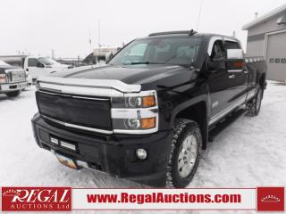 Used 2015 Chevrolet Silverado 3500 High Country Crew CAB SWR 4WD 6.6L for sale in Calgary, AB