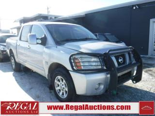 Used 2004 Nissan Titan SLE 4D Crew CAB 4WD for sale in Calgary, AB