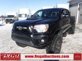 Used 2015 Toyota Tacoma TRD Sport Double CAB 4X4 V6 AT 4.0L for sale in Calgary, AB
