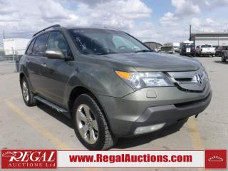 Used 2007 Acura MDX 4D Utility AWD for sale in Calgary, AB