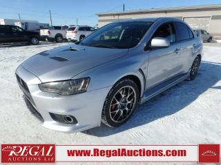 Used 2014 Mitsubishi Lancer Evolution GSR 4D Sedan AWD 2.0L for sale in Calgary, AB
