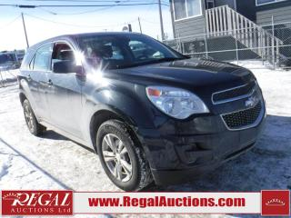 Used 2014 Chevrolet Equinox LS 4D Utility 4WD for sale in Calgary, AB
