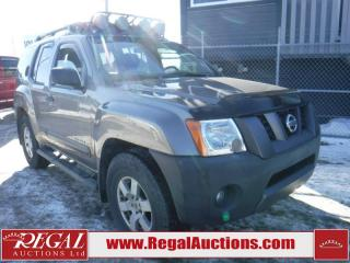 Used 2006 Nissan Xterra 4D Sport Utility 4WD for sale in Calgary, AB