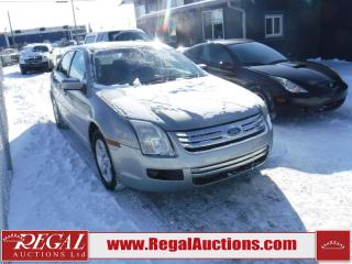 Used 2008 Ford Fusion SE 4D Sedan V6 AWD for sale in Calgary, AB