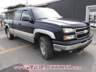 Used 2006 Chevrolet Silverado 1500 EXT CAB for sale in Calgary, AB