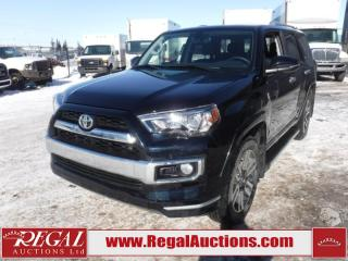 Used 2018 Toyota 4Runner Limited 4D Utility 4WD 7PASS 4.0L for sale in Calgary, AB