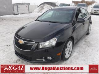 Used 2012 Chevrolet Cruze LT 4D Sedan Turbo 1.4L for sale in Calgary, AB