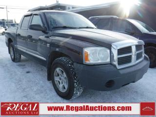 Used 2005 Dodge Dakota 4D Quad CAB 4WD for sale in Calgary, AB