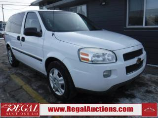 Used 2008 Chevrolet Uplander 4D WAGON for sale in Calgary, AB
