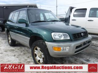 Used 1999 Toyota RAV4 4D HARDTOP 4WD for sale in Calgary, AB