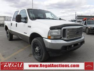 Used 2004 Ford F-350 SD 4D CREW CAB 4WD for sale in Calgary, AB
