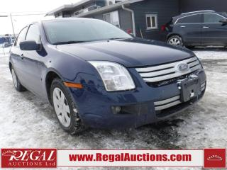 Used 2007 Ford Fusion SE 4D Sedan for sale in Calgary, AB