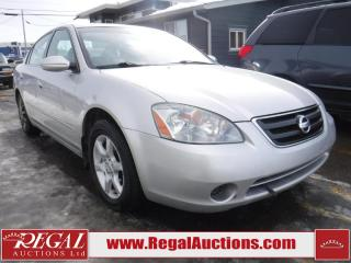 Used 2003 Nissan Altima S 4D Sedan 2.5 for sale in Calgary, AB