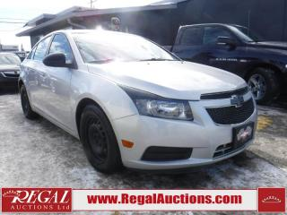Used 2011 Chevrolet Cruze 4D Sedan for sale in Calgary, AB