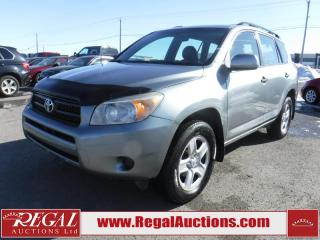 Used 2008 Toyota RAV4 Base 4D Utility for sale in Calgary, AB