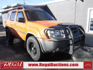Used 2003 Nissan Xterra SE 4D Utility 4WD for sale in Calgary, AB