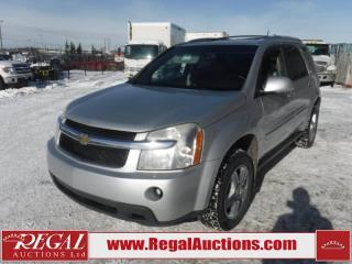 Used 2009 Chevrolet Equinox LT 4D Utility 2WD 3.4L for sale in Calgary, AB