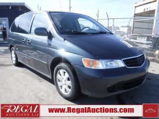 Used 2003 Honda Odyssey EX 4D VAN for sale in Calgary, AB