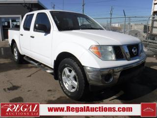 Used 2007 Nissan Frontier SE 4D Crew CAB 4WD for sale in Calgary, AB